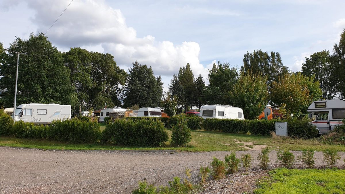 Camping im Naturbad Niederwiesa