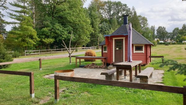 Grillkota im Naturbad Niederwiesa mieten