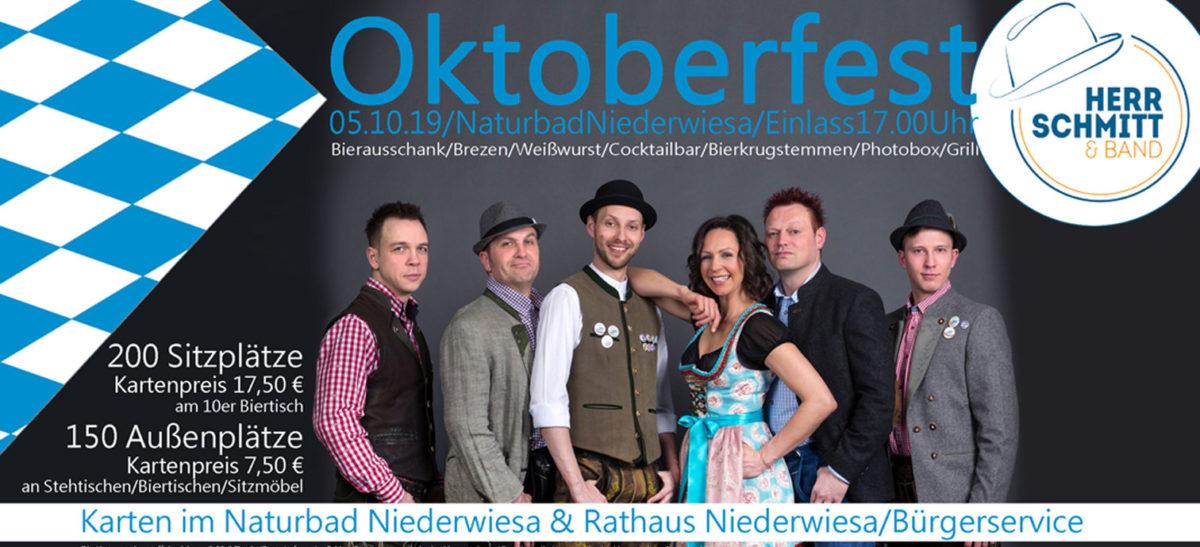 oktoberfest 2019 naturbad niederwiesa